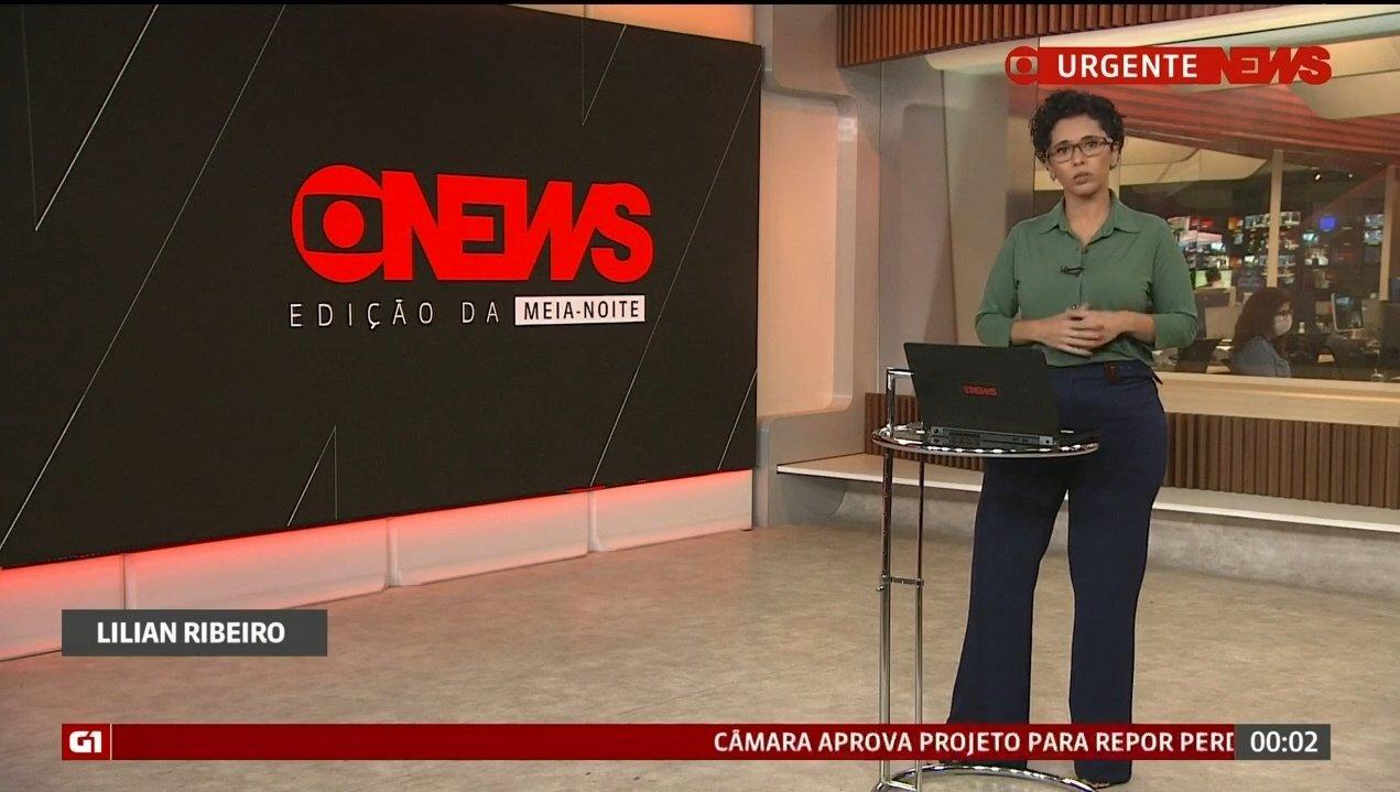 Lílian Ribeiro surpreendeu os telespectadores ao cair no choro na Globo News - Foto: Rerpodução