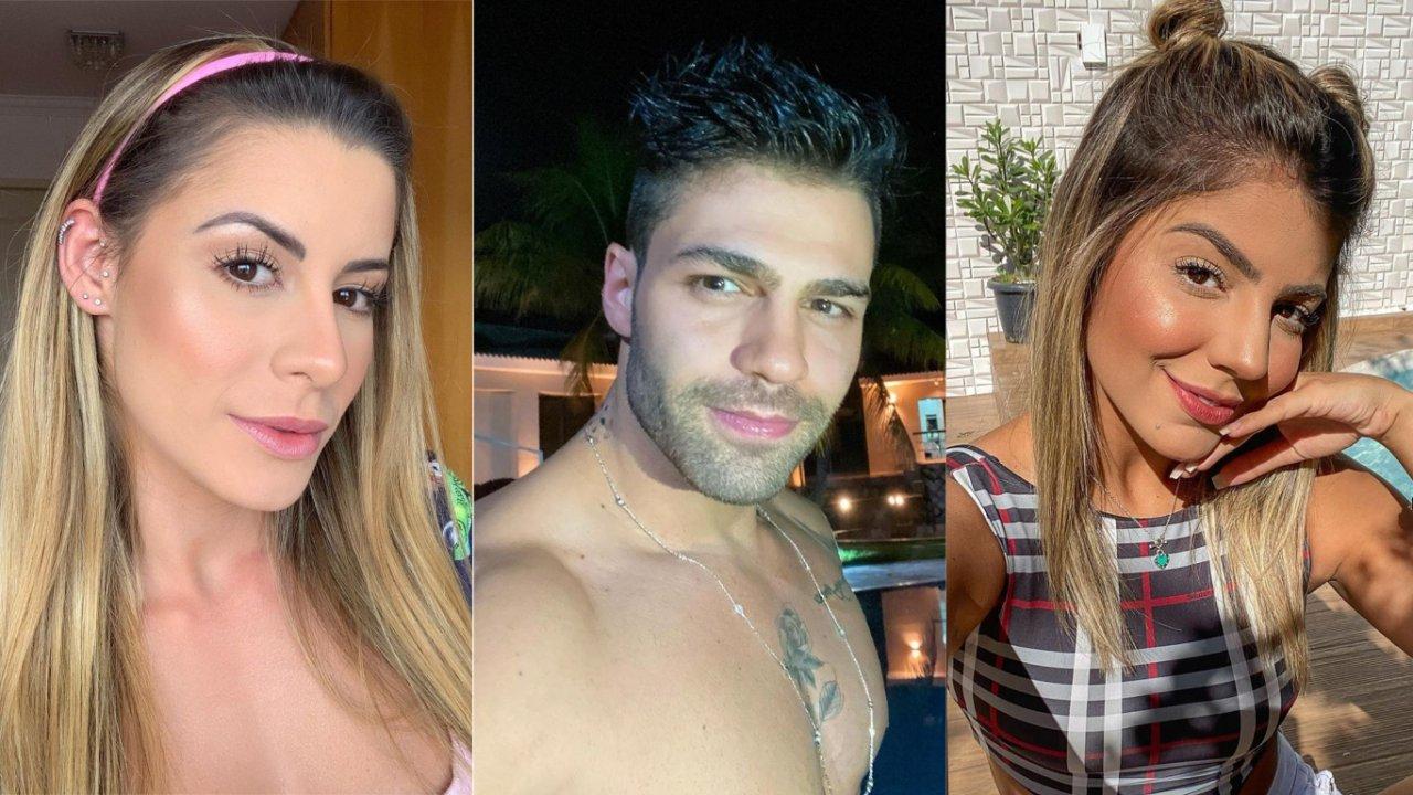 Aricia Silva atacou namoro de Netto com Hariany Almeida (Foto: Reprodução)