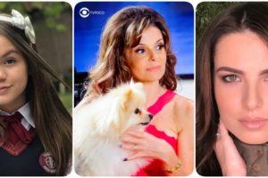 Fotomontagem com personagens Filipa, Verônica e Luisa da novela As Aventuras de Poliana
