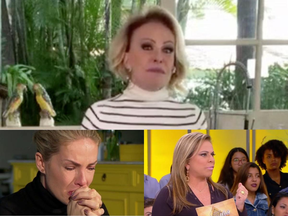 Audiência da TV 22/05: Ana Maria Braga levanta Globo, Hoje Em Dia se dá bem e Casos de Família faz SBT ir mal (Foto: Reprodução/Montagem TV Foco)