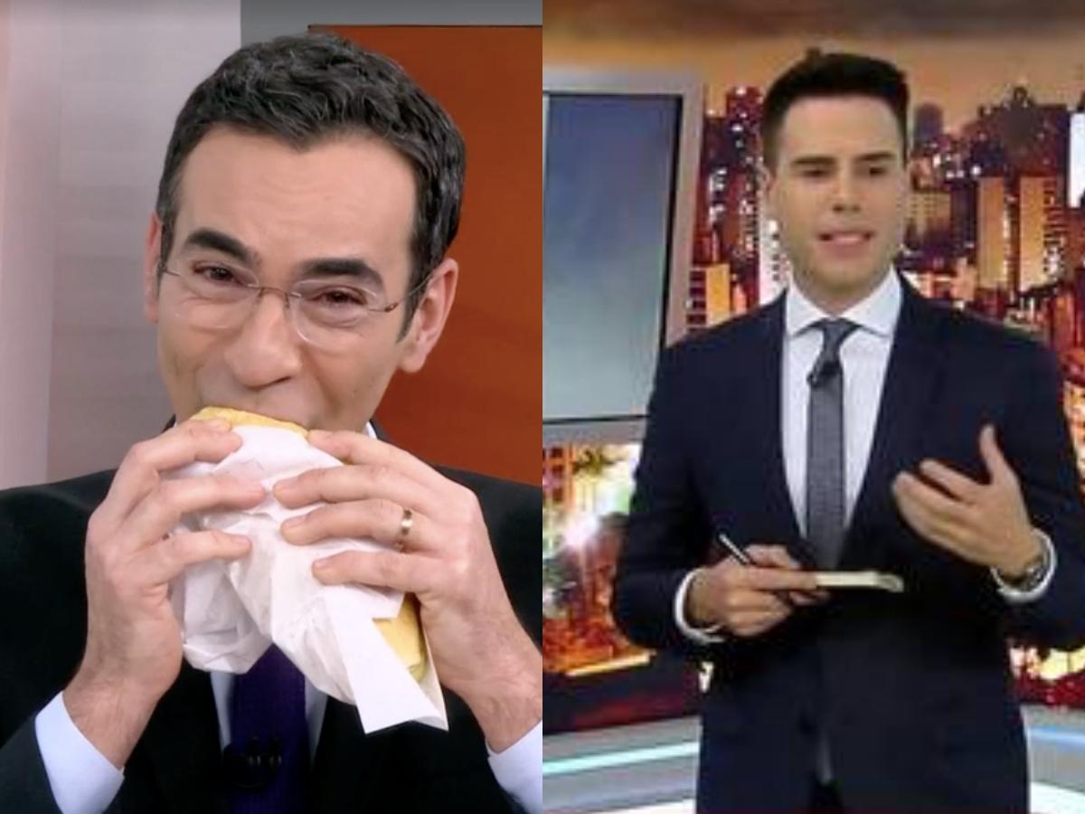 Audiência da TV 20/05: Cesar Tralli faz Globo disparar com SP1 e Luiz Bacci tira Record do fundo do poço (Foto: Montagem TV Foco)