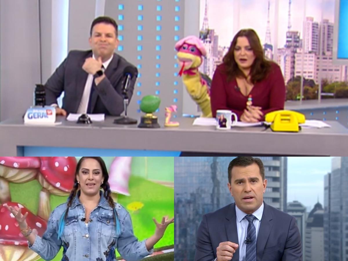 Audiência da TV: Venenosa deixa concorrência comendo poeira, Bom Dia & Cia brilha no SBT e Rodrigo Bocardi se dá mal (Foto: Reprodução/Montagem TV Foco)