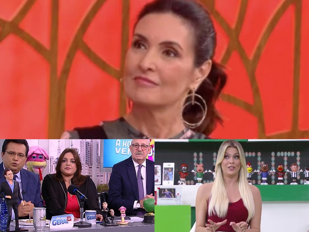 Audiência da TV 05/05: Venenosa marca dois dígitos, Fátima Bernardes deixa rivais no chinelo e Renata Fan derruba Band (Foto: Reprodução/Montagem TV Foco)