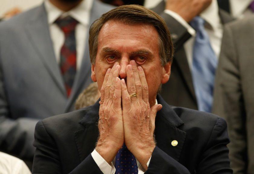 Bolsonaro não se agradou da edição em que foi exposto pelo SBT Brasil