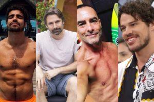 Famosos brasileiros que já tiveram 'nudes' vazadas (Foto: Montagem TV Foco)