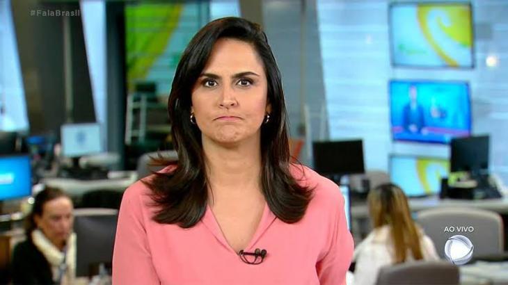 A jornalista Carla Cecato, da Record - Foto: Reprodução