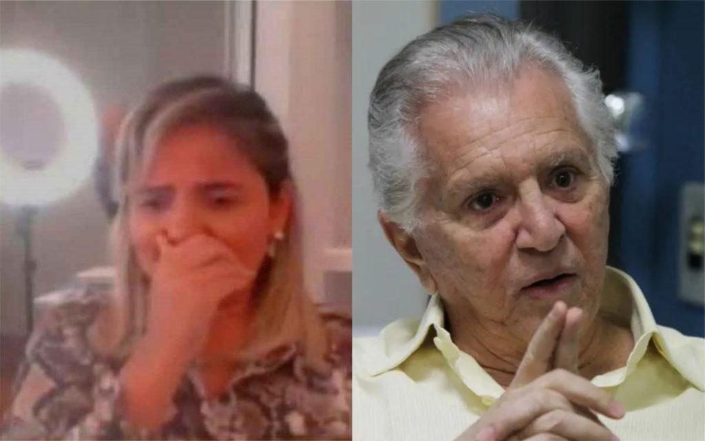 Renata Domingues é esposa do apresentador Carlos Alberto de Nóbrega (Foto: Divulgação / Montagem: TV Foco)