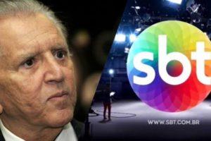 Carlos Aberto de Nóbrega volta a gravar para o SBT, de casa ele participará do Domingo Legal (Montagem: TV Foco)