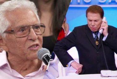 Carlos Alberto de Nóbrega revela algo que nem Silvio Santos sabia (Montagem: TV Foco)