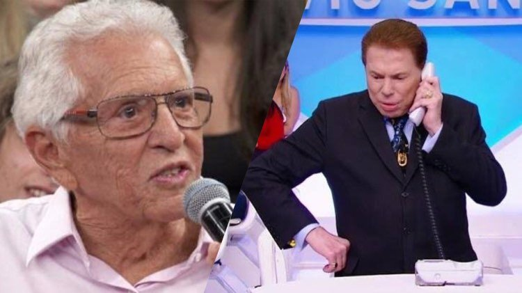 Carlos Alberto de Nóbrega revela sbt algo que nem Silvio Santos sabia (Montagem: TV Foco)