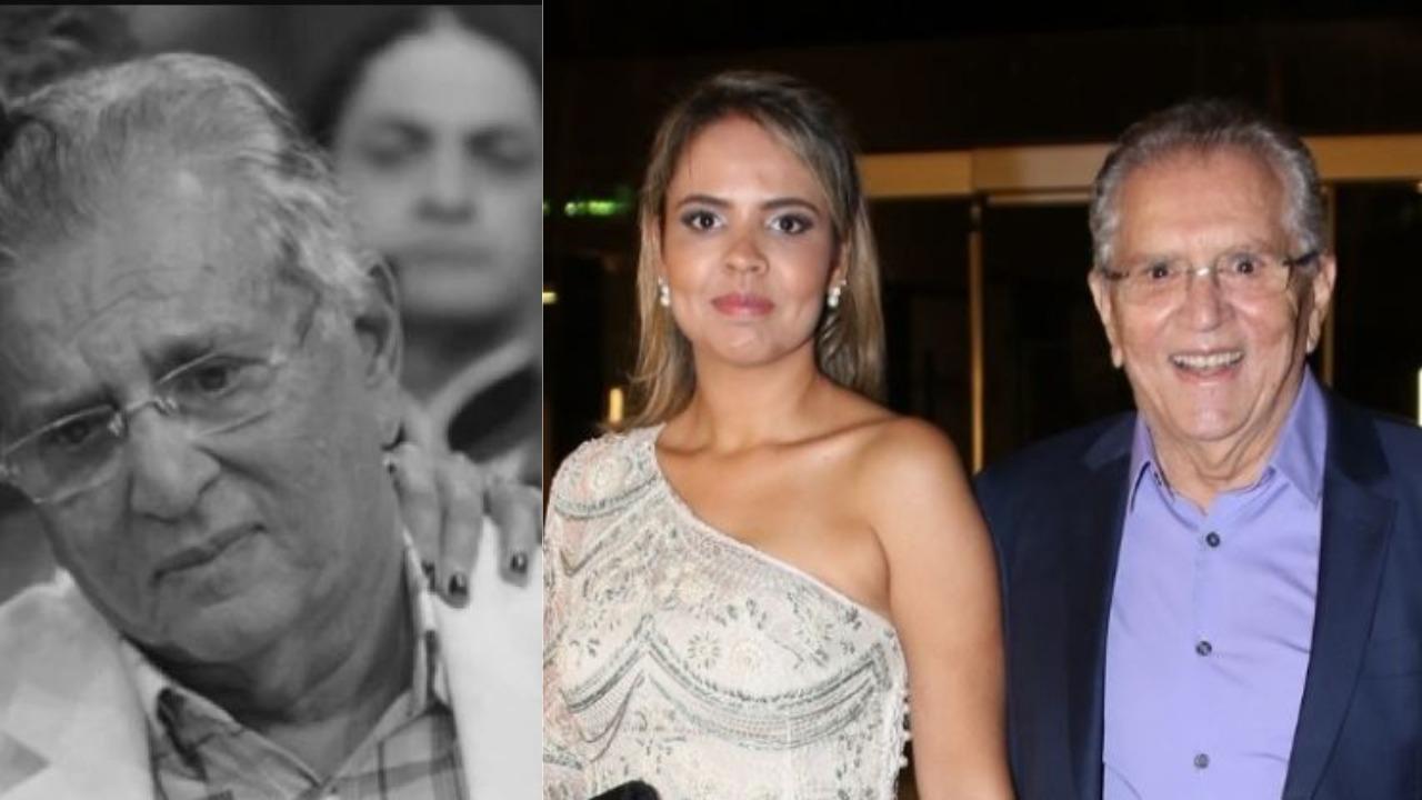 Carlos Alberto de Nóbrega é casado com Renata Domingues (Foto: Reprodução/AgNews)