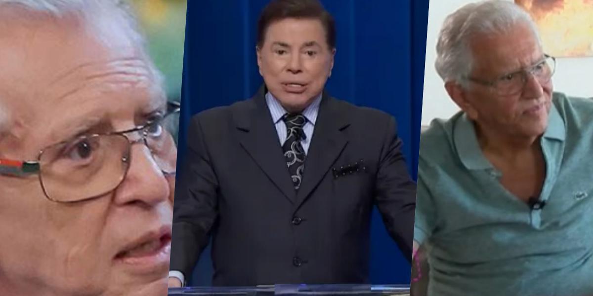Carlos Alberto contou toda verdade sobre Silvio Santos (Foto montagem)