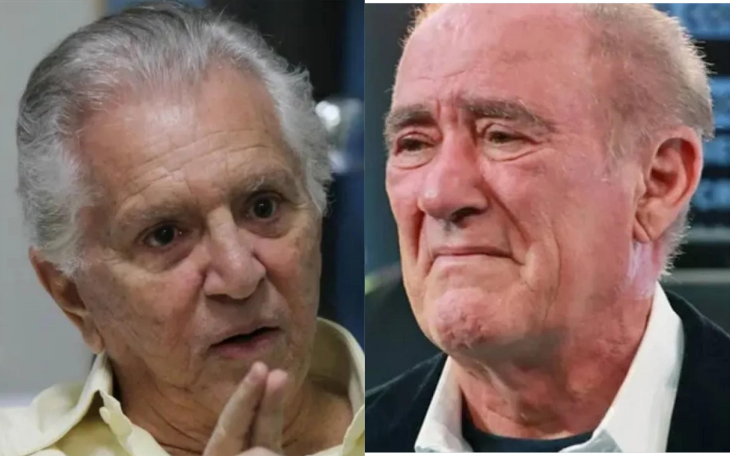 Carlos Alberto de Nóbrega e Renato Aragão (Foto: Divulgação)