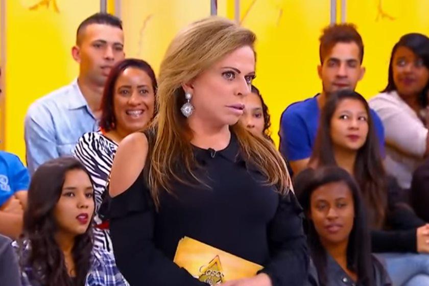 Christina Rocha comanda o Casos de Família no SBT (Foto: Divulgação)