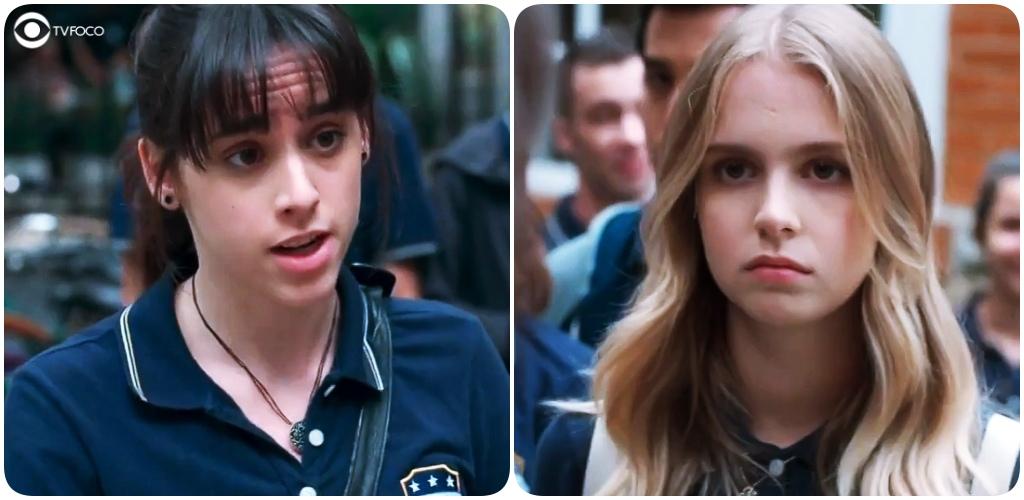 Clara se vinga de Lica na trama de Malhação