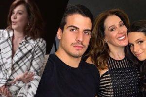 Claudia que já mãe de Enzo e Sophia pode ser mãe novamente aos 53 anos (Montagem: TV Foco)