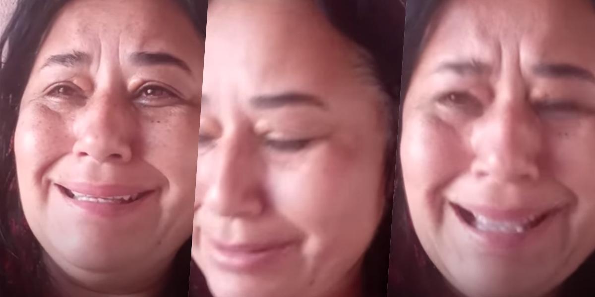 Cleo Loyola, ex de Luciano Camargo, surgiu aos prantos em vídeo (Foto montagem)