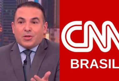 Reinaldo Gottino se demitiu da CNN Brasil e voltou para a Record (Foto: Reprodução/CNN Brasil)