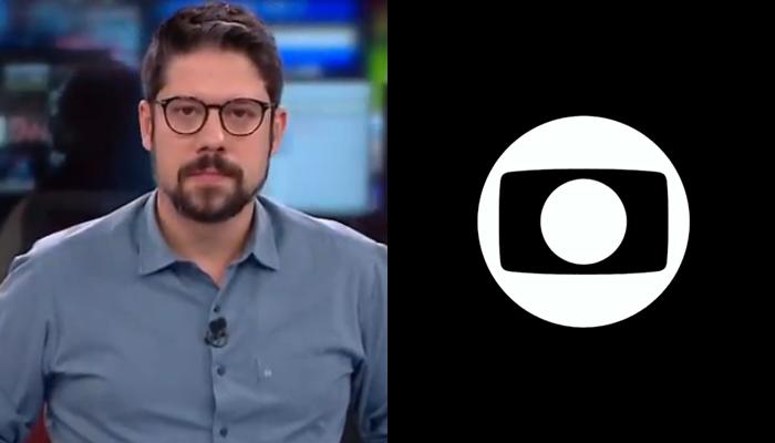 Phelipe Siani no programa Live, na CNN Brasil; apresentador foi criticado por Leilane Neubarth, da Globo News (Foto: Reprodução/CNN Brasil e Globo/Montagem)