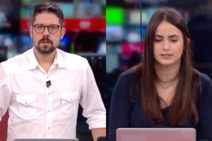 Phelipe Siani pediu aumento ao vivo na CNN Brasil e deixou Mari Palma constrangida (Foto: Reprodução/CNN Brasil)