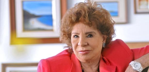 A atriz da Globo, Daisy Lúcidi, foi diagnosticada com covid-19 (Reprodução)