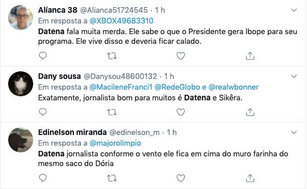 Internautas se dividem em comentários sobre (Foto: reprodução/Twitter)