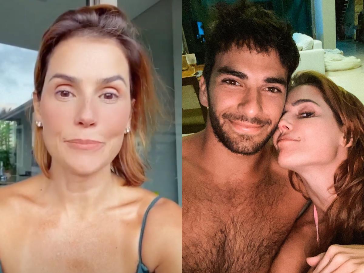 A famosa atriz da Globo, Deborah Secco causou um alvoroço nas redes sociais (Foto: Reprodução/Instagram/Montagem TV Foco)