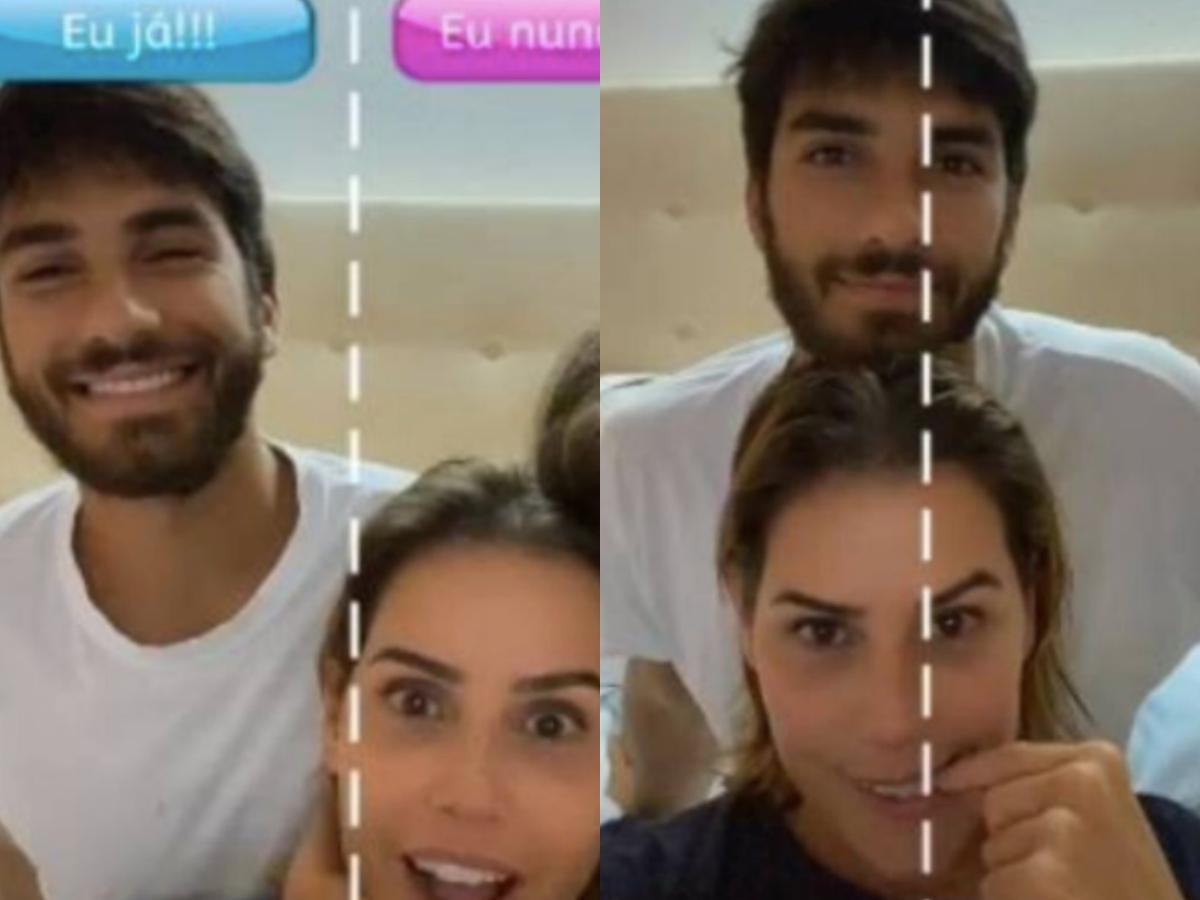 O marido da atriz da Globo, Hugo Moreira deixou a contratada de queixo caído após expor segredo chocante nas redes sociais (Foto: reprodução)