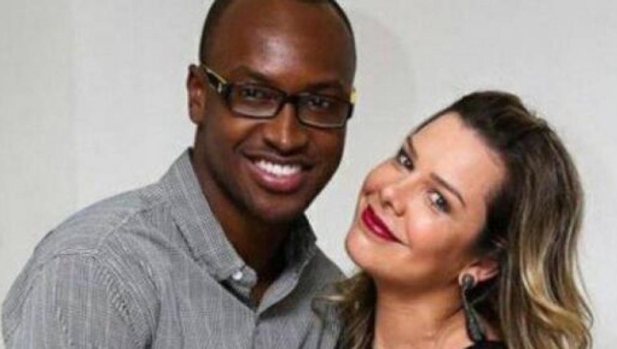 Fernanda Souza e Thiaguinho (Foto: Reprodução)
