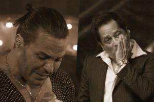 Eduardo Costa e Leonardo têm polêmicas escancaradas (Foto: Reprodução)