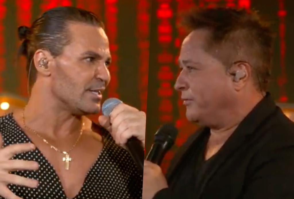 Sertanejo Eduardo Costa e Leonardo se apresentaram na live Cabaré (Foto montagem)