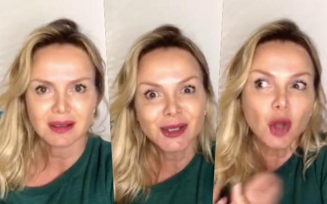 """Eliana revela que se envolveu em """"briga"""" nas redes sociais (Foto: Reprodução)"""