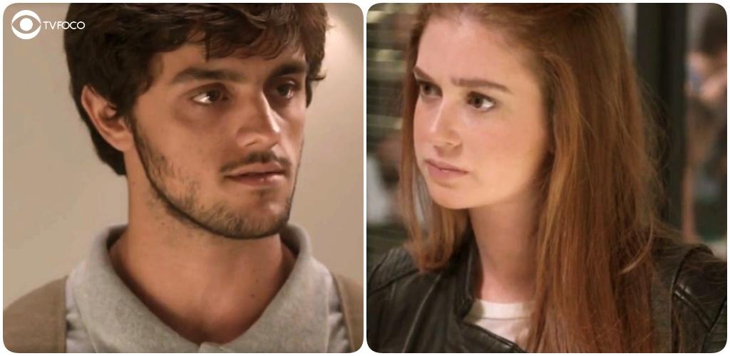 Jonatas é duro com Eliza na novela Totalmente Demais