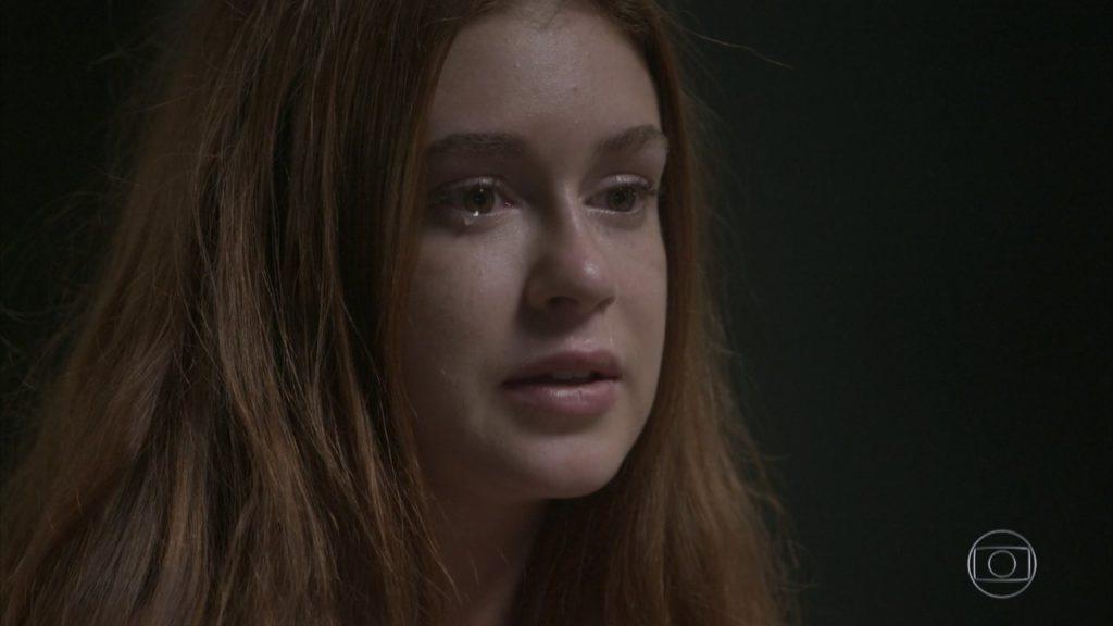 Eliza fica chorosa em cena de Totalmente Demais