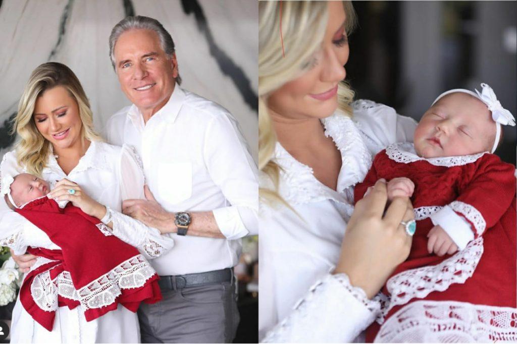 Ana Paula Siebert, esposa de Roberto Justus, fala sobre problemas no parto com a filha