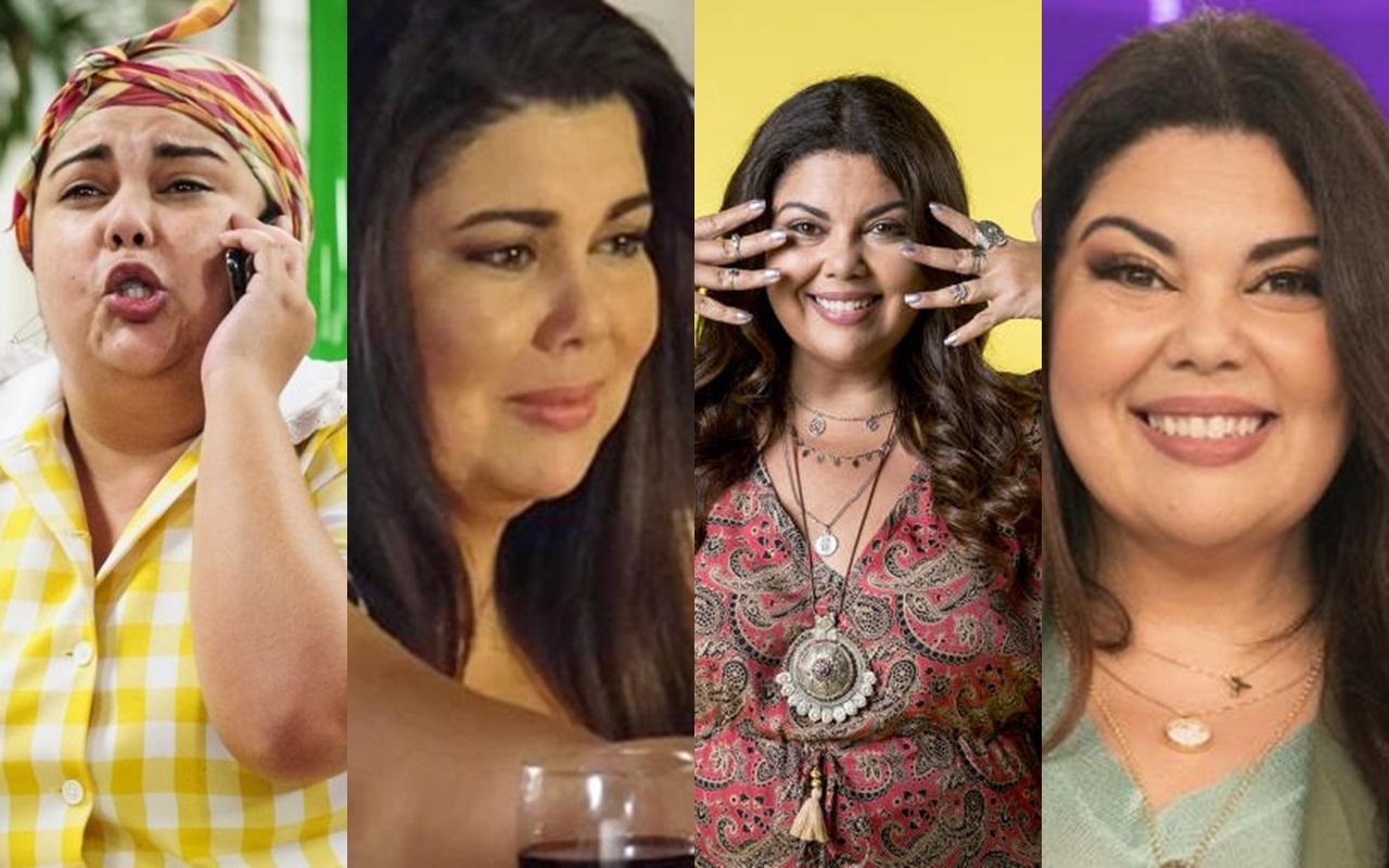Conheça mais da grande carreira de Fabiana Karla (Foto: Montagem TV Foco)