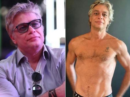 Fábio Assunção antes e depois