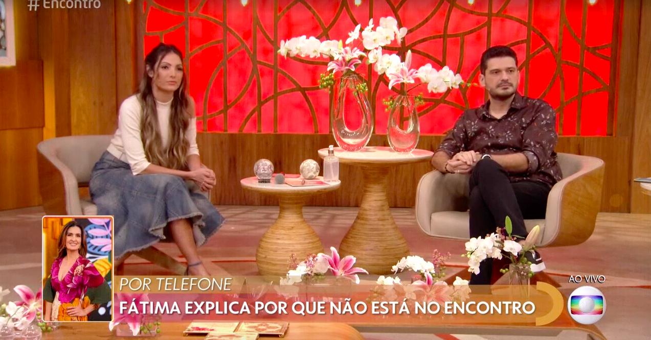 A famosa apresentadora do Encontro, Fátima Bernardes falou sobre sua ausência no programa (Foto: Reprodução/Globoplay)