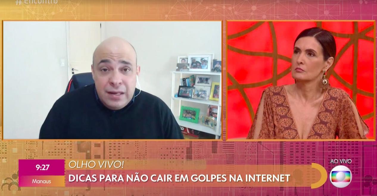 A famosa apresentadora do Encontro e ex-mulher do âncora do Jornal Nacional da Globo, William Bonner, Fátima Bernardes chamou atenção ao falar sobre golpe ao vivo no programa (Foto: Reprodução/Globoplay)