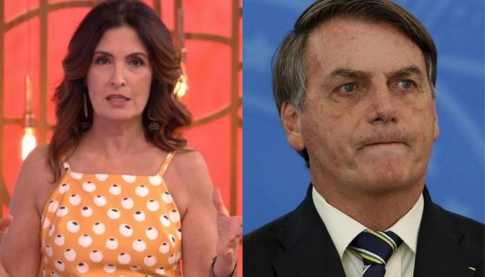 Fátima Bernardes ficou revoltada e rebateu governo Bolsonaro no Encontro (Foto: Reprodução/Globo)