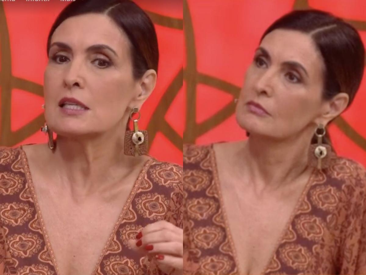 Fátima Bernardes fala sobre golpe envolvendo filho (Foto: Reprodução/Globoplay/Montagem TV Foco)