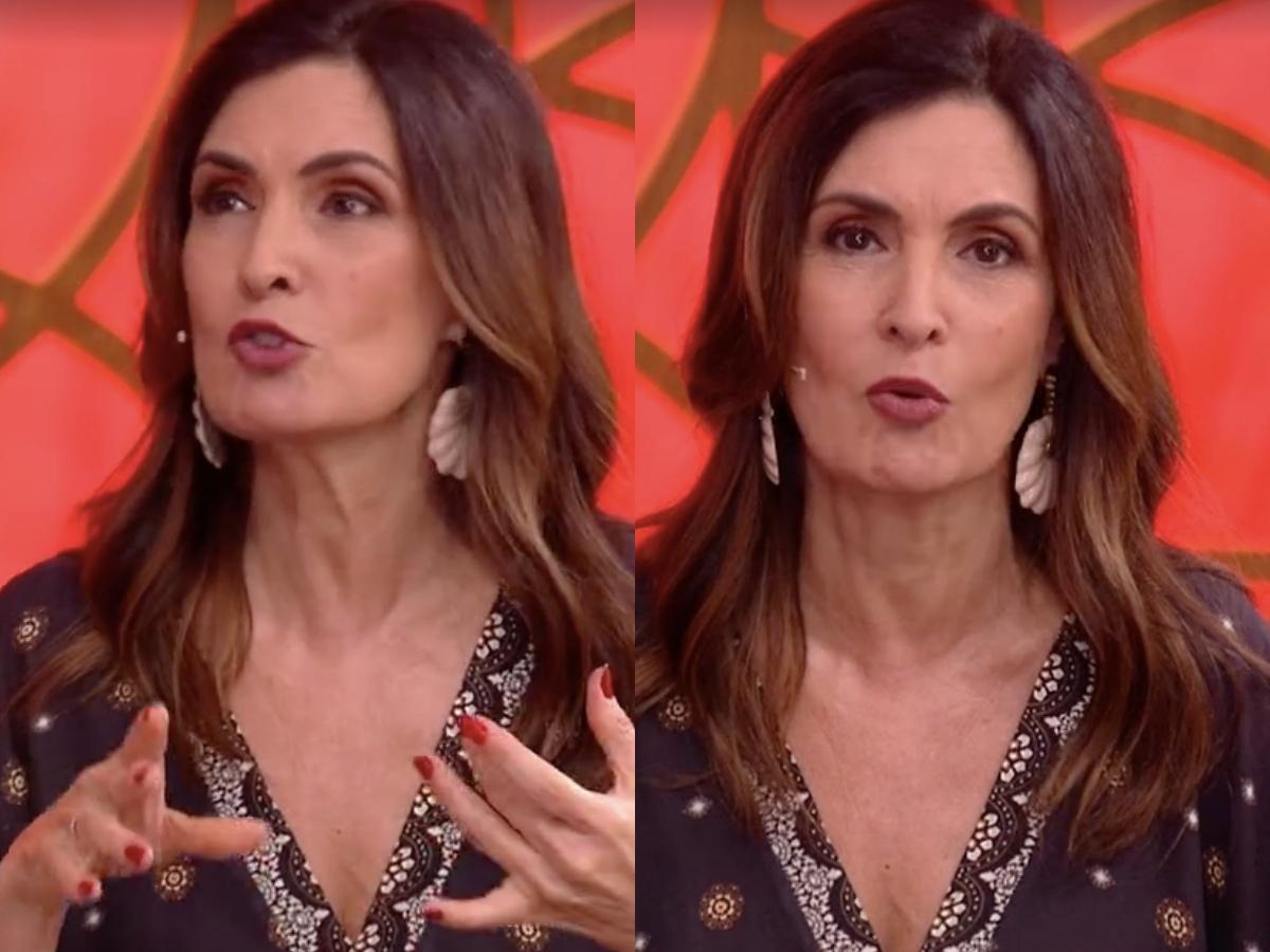 A famosa apresentadora do Encontro, Fátima Bernardes (Foto: Reprodução/Globoplay/Montagem TV Foco)