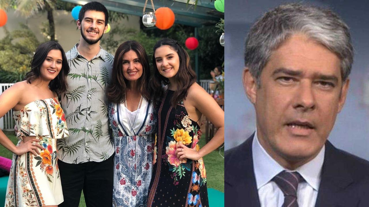 Fátima Bernardes e William Bonner se tornaram alvo de criminosos (Foto: Reprodução/Instagram/TV Globo)