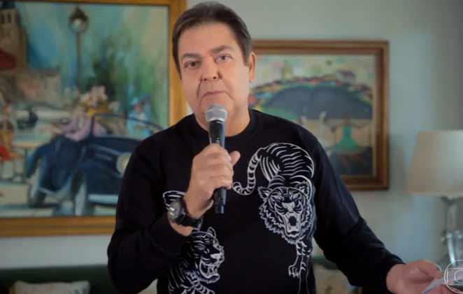 O apresentador Faustão quebrou o silêncio - Foto: Reprodução