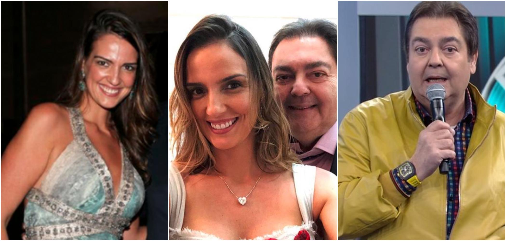Luciana Cardoso, esposa de Faustão, negou que ele tenha feita procedimento estético