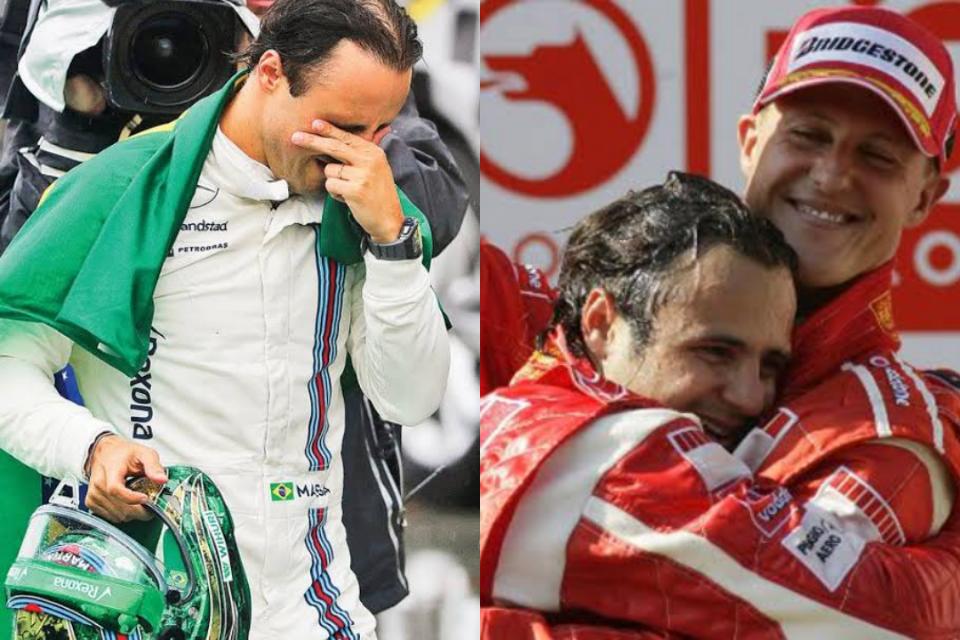 Após grave acidente em dezembro de 2013, Felipe Massa revela ter informações sobre Michael Schumacher (Foto: Reprodução)