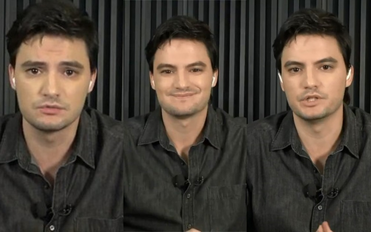 Felipe Neto foi um grande destaque no 'Roda Viva' (Foto: reprodução/TV Cultura)