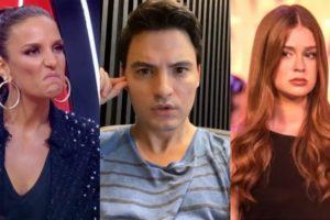 Felipe Neto detonou Ivete Sangalo e Marina Ruy Barbosa (Foto: Reprodução/Instagram/TV Globo)
