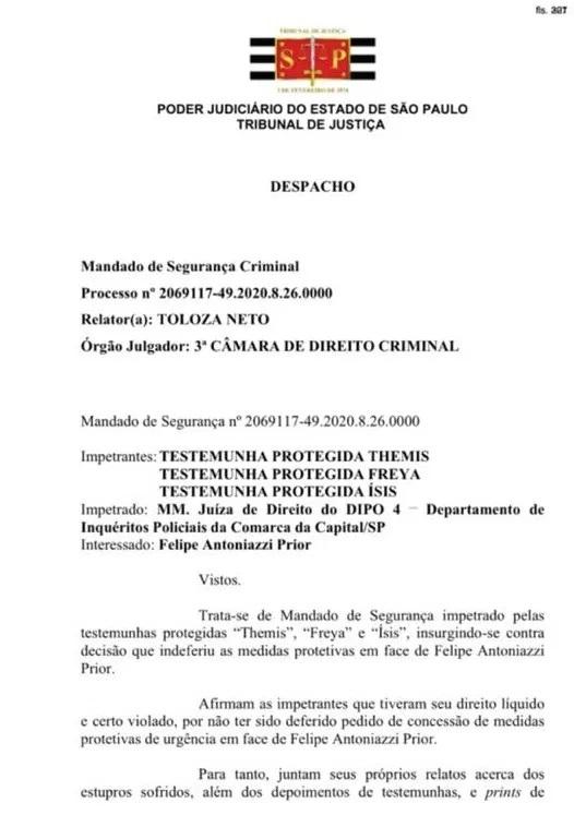 Pedido de supostas vítimas é negado (Foto: reprodução)