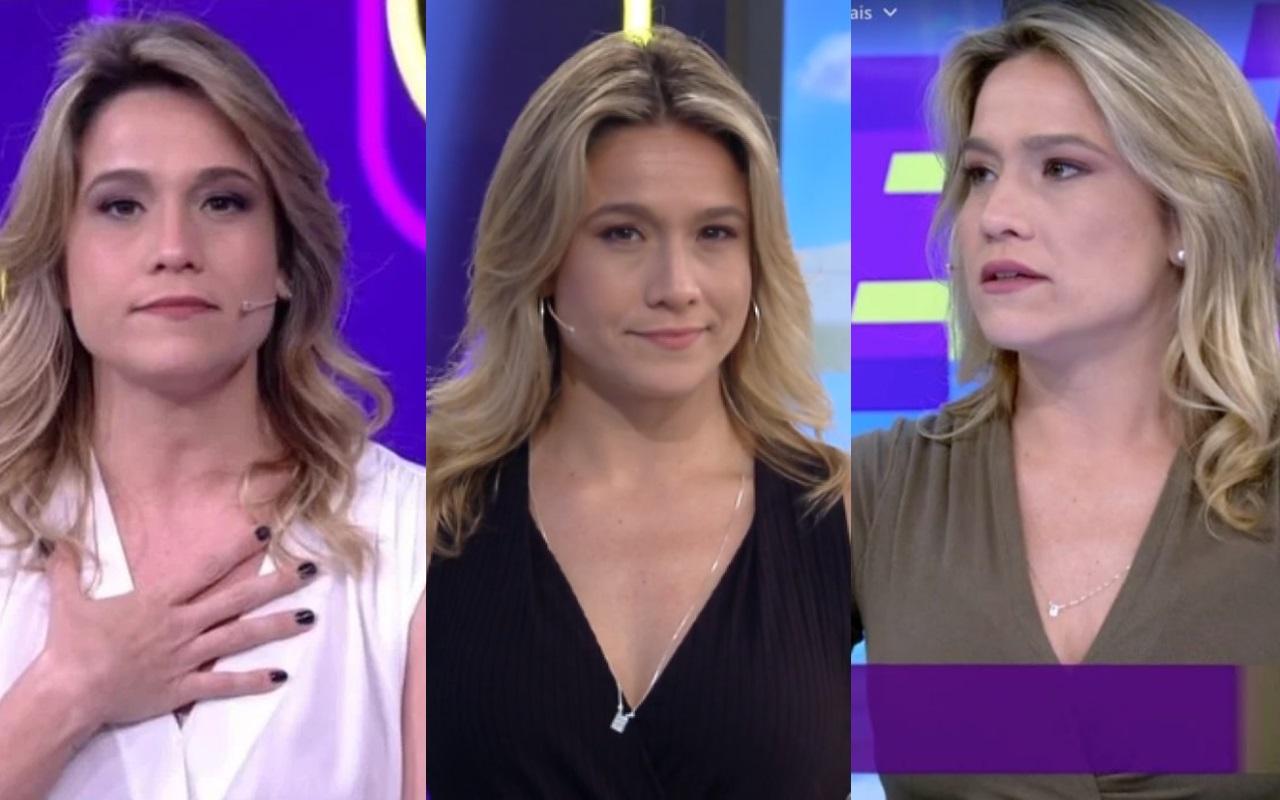 Fernanda Gentil se posicionou sobre o fim do 'Se Joga' na Globo (Foto: Montagem TV Foco)